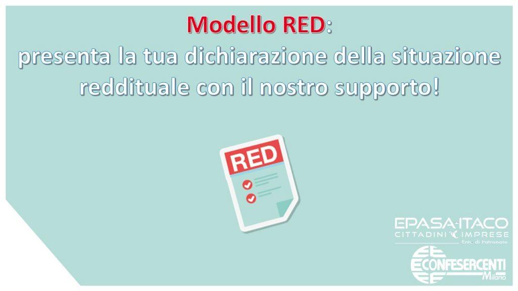 Modello RED 2021